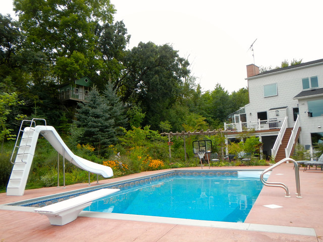 Swimming Pool Project In North Rochester Mn