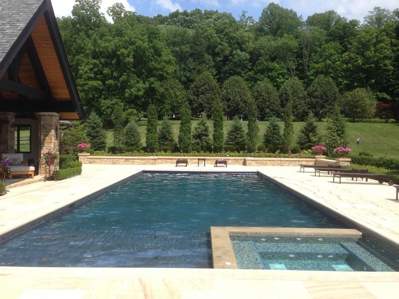 Swimming Pool, Spa, Poolhouse Pavilion