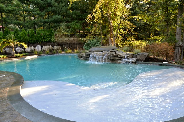 Swimming Pool Waterfalls Traditional Other By