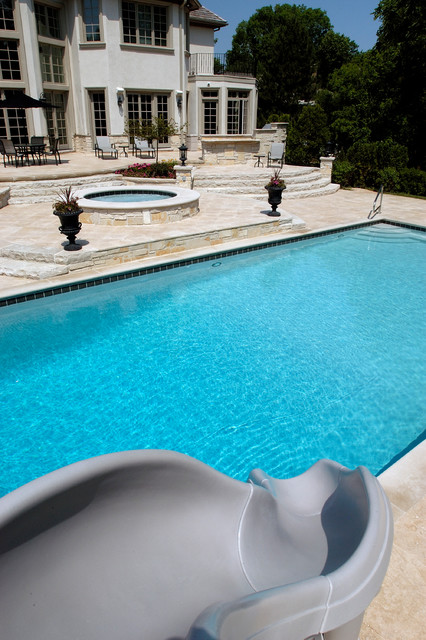 Swimming Pool With Separate Elevated