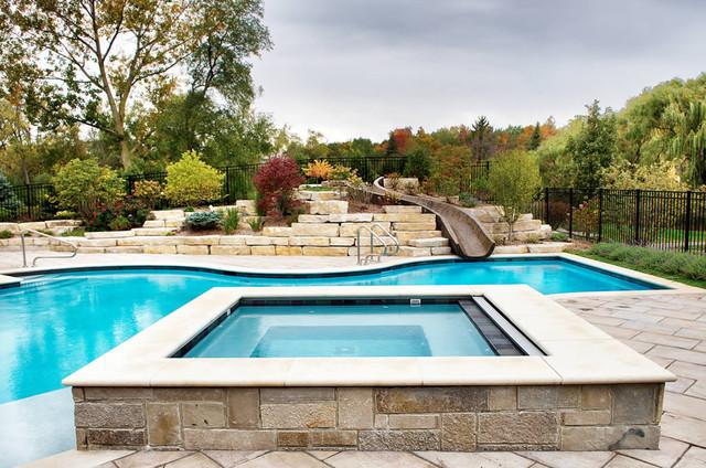 Swimming Pools & Spas traditional-pool