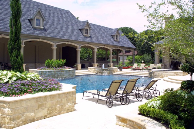 Swimming Pools and Water Features traditional-pool
