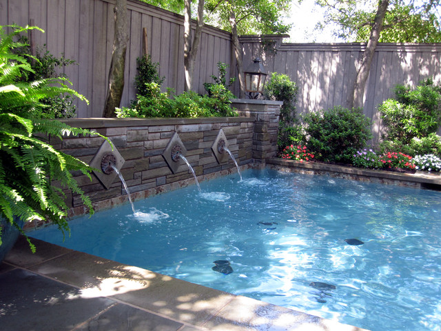 Swimming pools and water features for Swimming pool water features