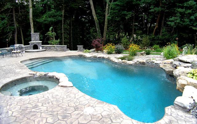 Swimming Pools traditional-pool