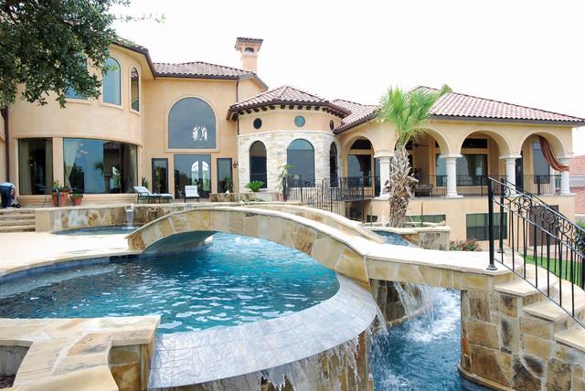 Swimming Pools By Stadler Custom Homes Mediterranean
