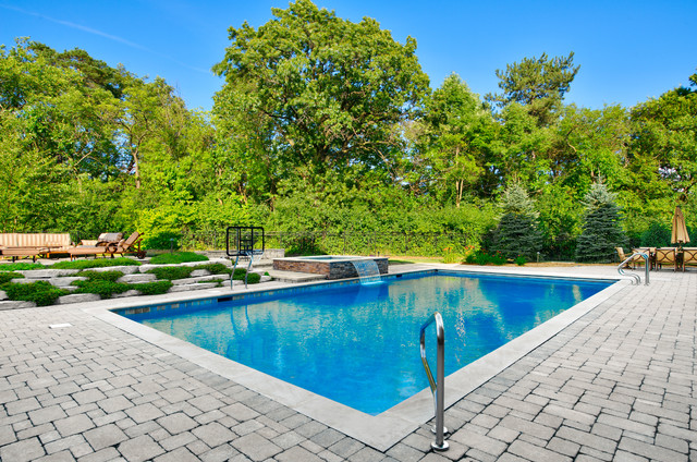 Swimming pools chicago traditional pool chicago by platinum poolcare - Pools in chicago ...
