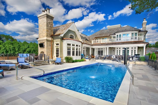 Swimming Pools Chicago Platinum Pools Traditional Pool Chicago By Platinum Poolcare