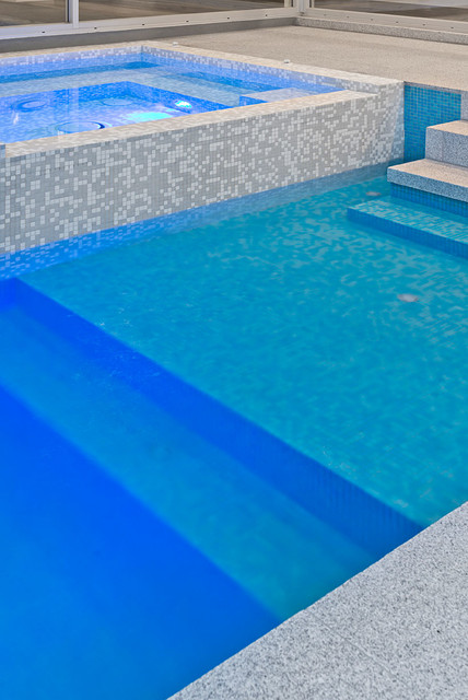 Swimming Pools Modern Pool Melbourne By Perini Tiles