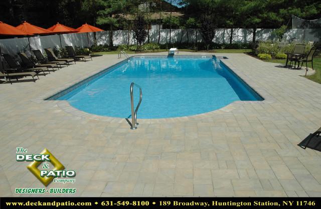 Swimming Pools Pool And Spa Pool Pool Builder Hot Tub American Traditional Swimming Pool