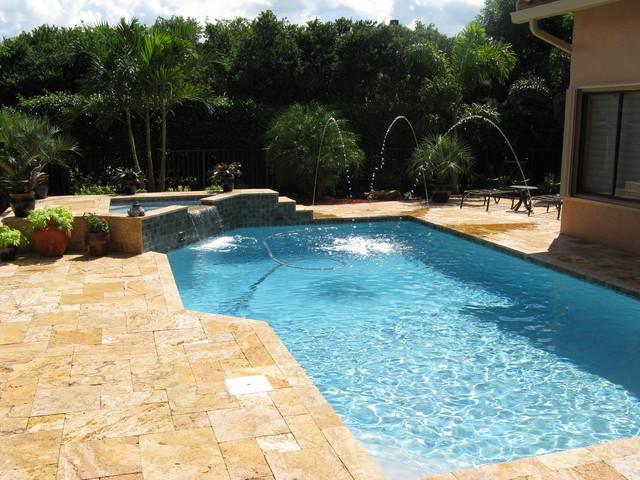 Swimming pools modern pool miami by premier pools for Premier pools