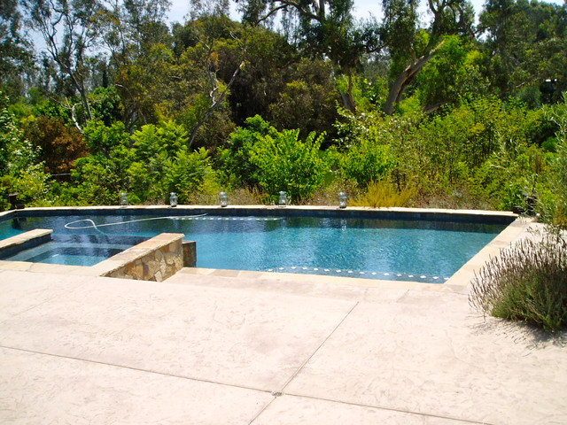 swimming pools, spas, Grottos, waterfalls, Cascades and water details pool
