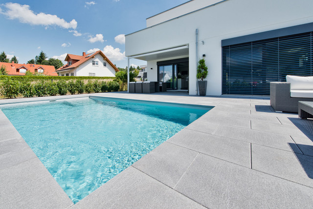 Frankfurt Swimming Pool systemsteinbecken 7 x 3 5 x 1 5 m contemporary swimming pool