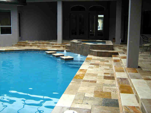 Tampa modern landscape asian pool tampa by tampa for Pool design tampa