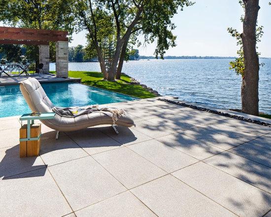 L Shaped Pool Design Ideas Renovations Photos