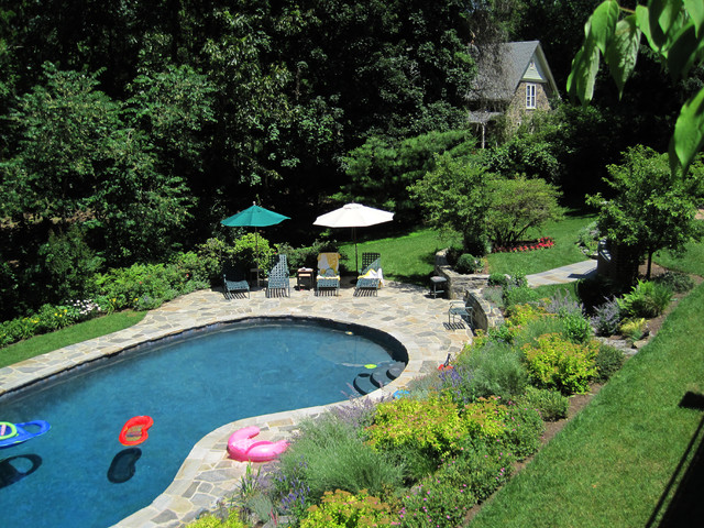 Terraced Patios & Gardens, Chestnut Hill