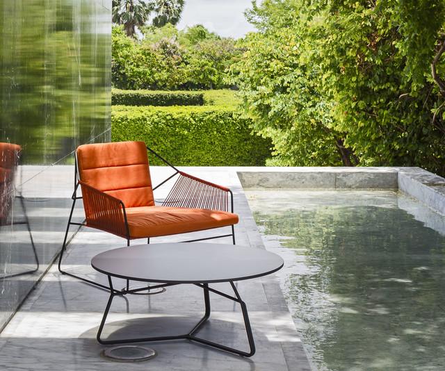 terrassen lounge sessel aus edelstahl modern pools. Black Bedroom Furniture Sets. Home Design Ideas