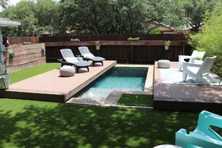 texas tiny pools  modern  pool  austin texas tiny