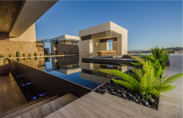 Super The 2013 Nahb New American Home Modern Pool Las Vegas By Largest Home Design Picture Inspirations Pitcheantrous
