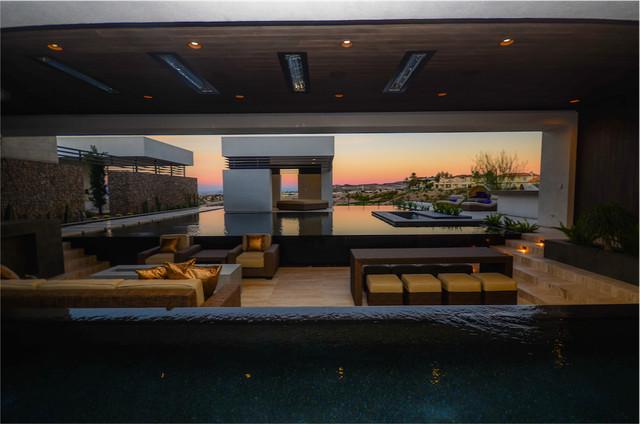 The 2013 Nahb New American Home Modern Pool Las