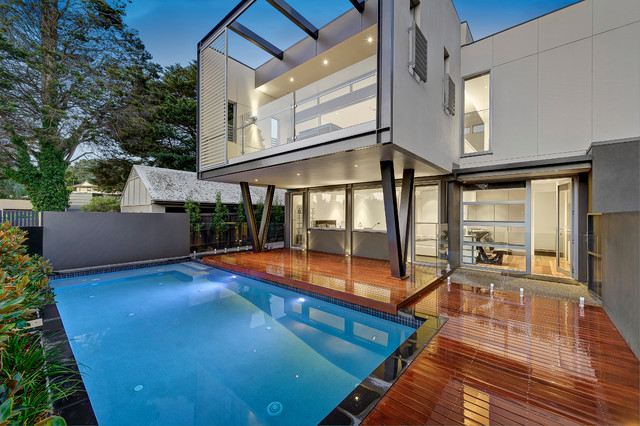 The Boulevard contemporary-pool