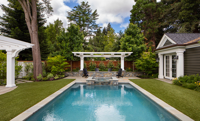 The Country Home - Traditional - Pool - San Francisco - by ... on entry door designs for home, water fountain designs for home, a view designs for home, wheelchair ramp designs for home, deck designs for home, english pub designs for home, main gate designs for home, bar designs for home,