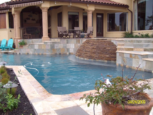 The Cunningham Residence traditional-pool