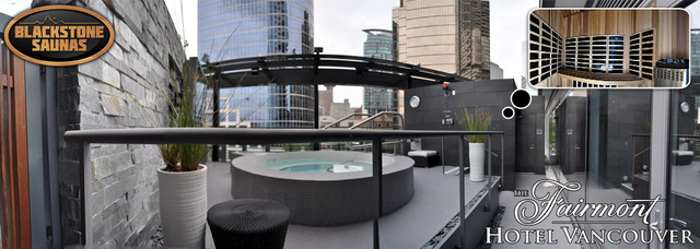 The Fairmont Hotel Vancouver modern-pool