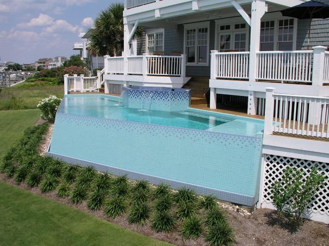 The Open Ocean Air contemporary-pool