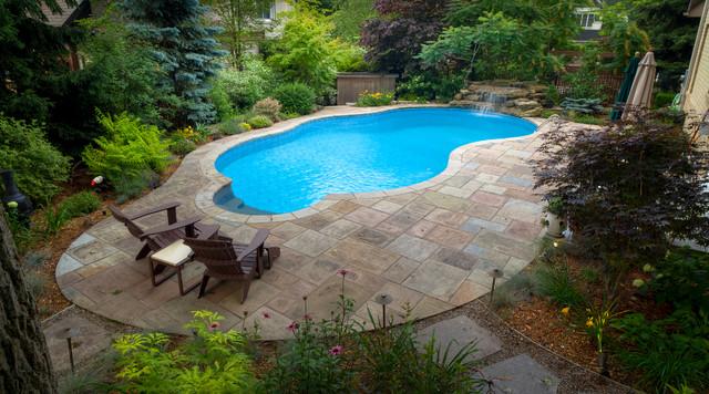 The Secret Garden Oakville On Traditional Pool Toronto