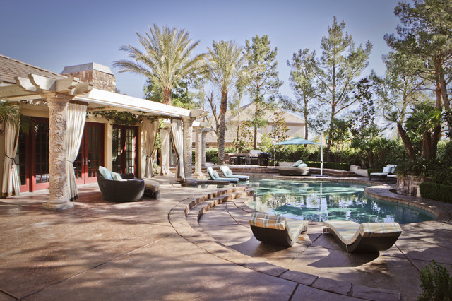 THE TRAILS - PRIVATE RESIDENCE contemporary-pool