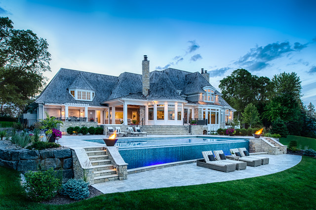 Timeless Lake Minnetonka Transitional Pool