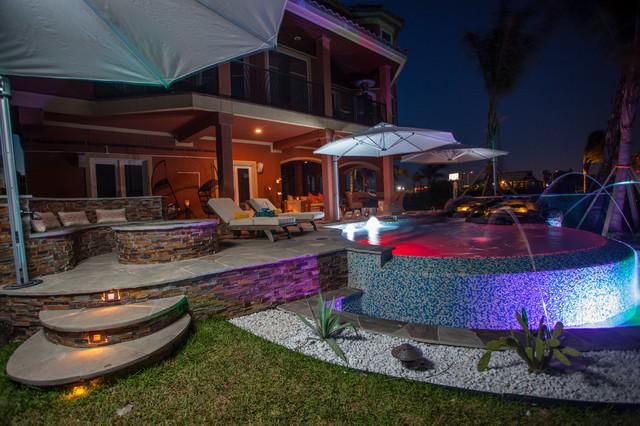Total Backyard Solution Galveston Tx Tropical Pool