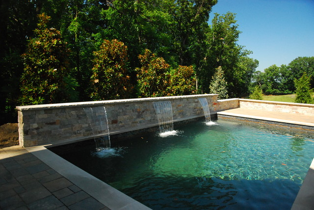 Towson md modern pool dc metro by land water design for Pool design maryland