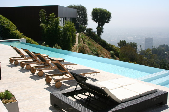 Traditional and Formal Pools contemporary-pool