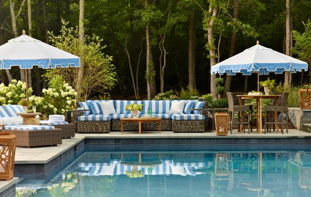 Traditional home hamptons designer showhouse for Pool design hamptons