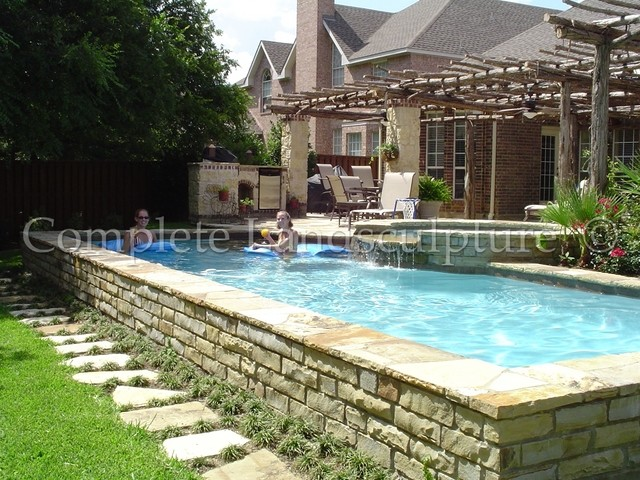 Inspiration For A Timeless Pool Remodel In Dallas