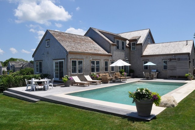 Pool - traditional rectangular pool idea in Other