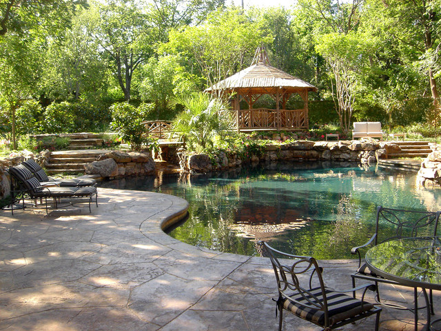 Private Swimming Pools traditional-pool