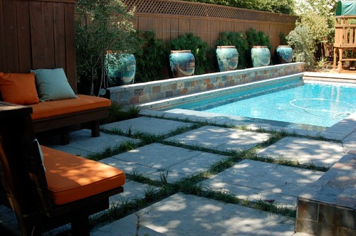 Shades of Green : Luxury - Larkspur, CA : Portfolio traditional pool