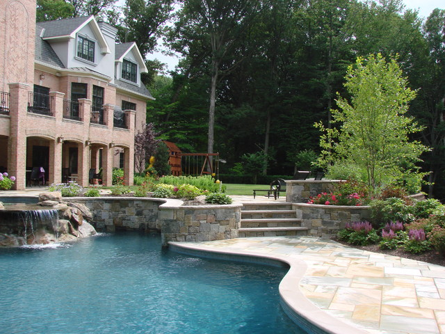Essex Fells Nj traditional pool