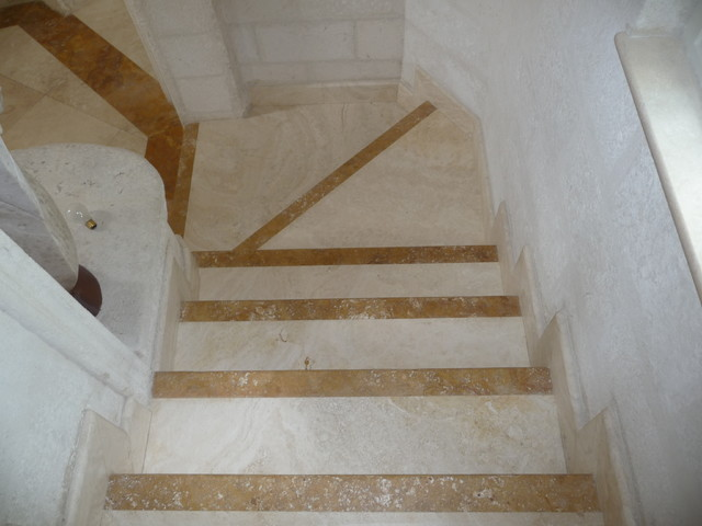 Travertine Flooring contemporary