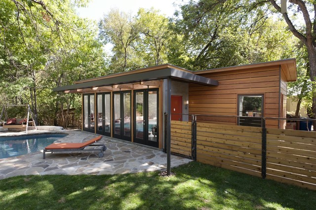 Ordinaire Travis Heights   Guest House Modern Patio