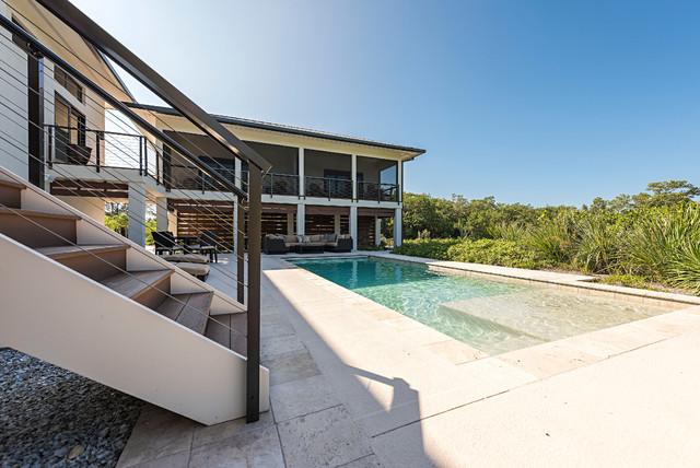 Tropical modular home for Prefab tropical homes