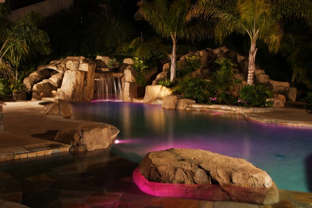 Dream Pools and Spas of San Diego, Inc. tropical pool