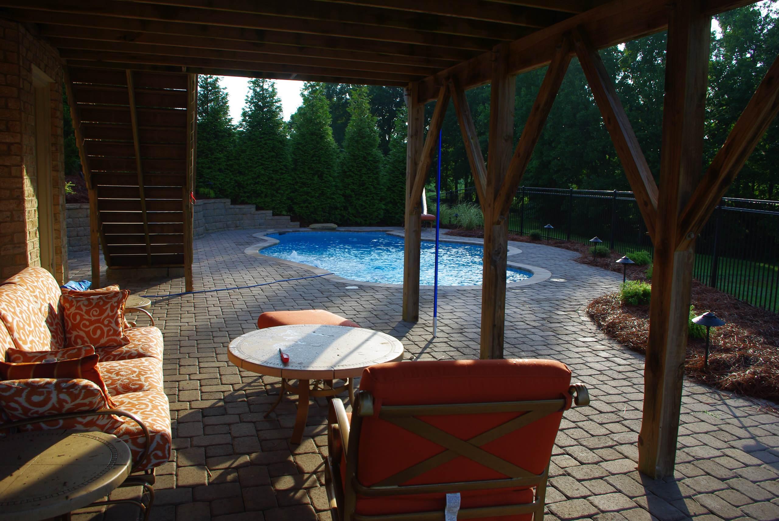 Tropical Pool in Summerfield