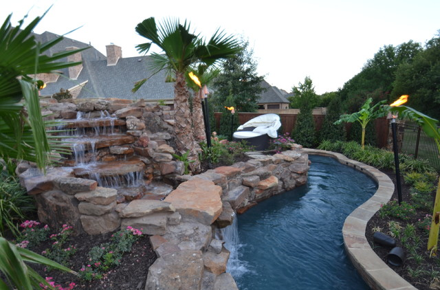lazy river swimming pool designs lazy river design swimming pool builders colleyville residential lazy river tropical. Interior Design Ideas. Home Design Ideas