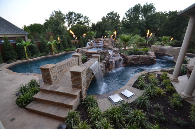 Charmant Colleyville HGTV Cool Pools/ Ultimate Pools Residential Lazy River Tropical  Pool