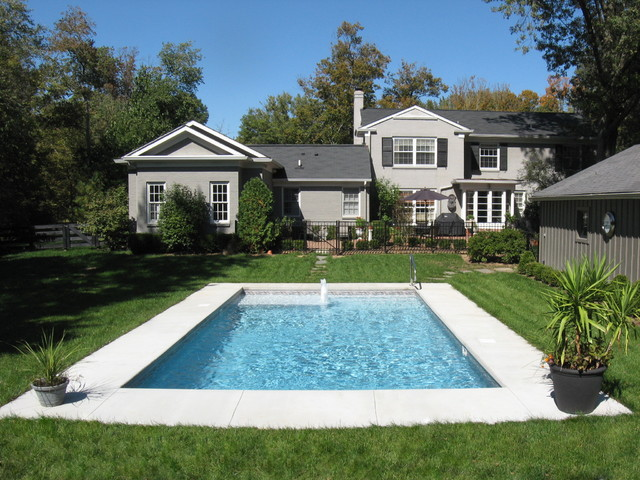 true rectangle vinyl liner pool traditional pool