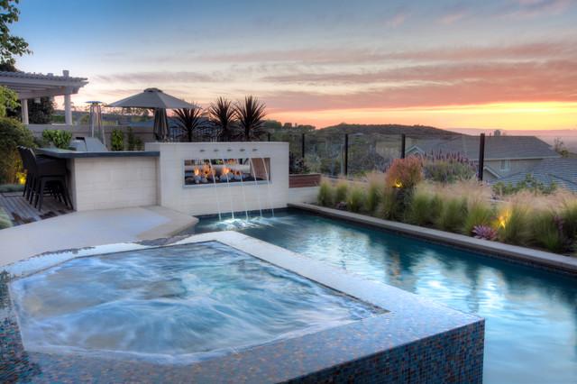 Turtle Ridge Remodel Contemporary Pool Orange County