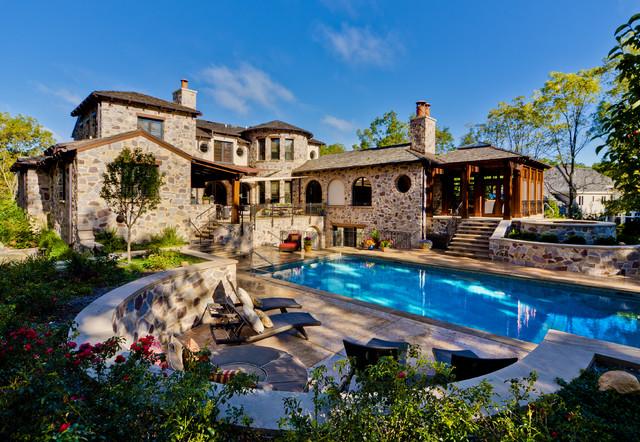 Tuscan Pool Terrace